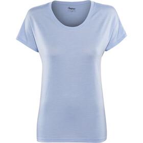 Bergans W's Oslo Wool Tee Air Blue